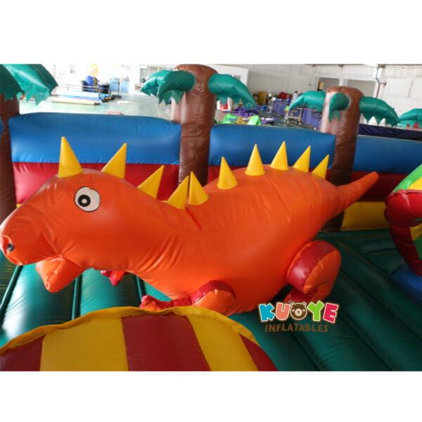 AP002 Jurassic Dinosaur Inflatable Trampoline Playground 6