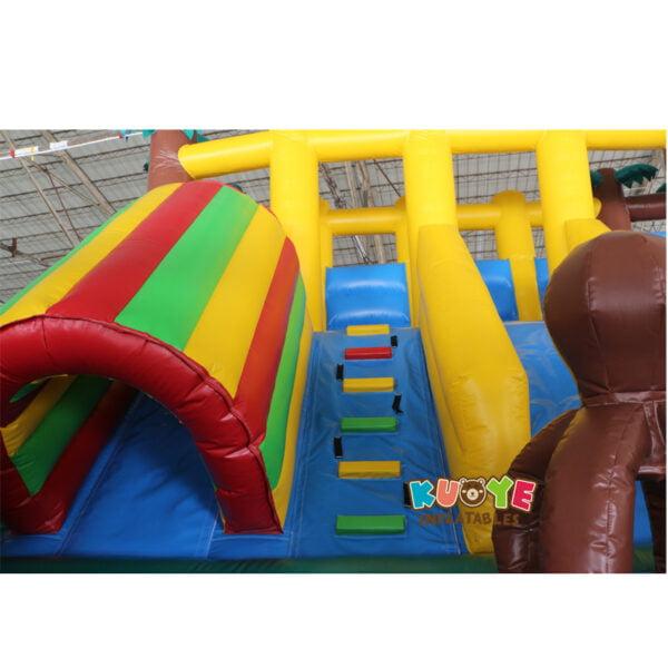 AP002 Jurassic Dinosaur Inflatable Trampoline Playground 7