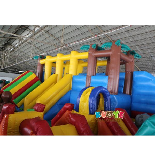 AP002 Jurassic Dinosaur Inflatable Trampoline Playground 4