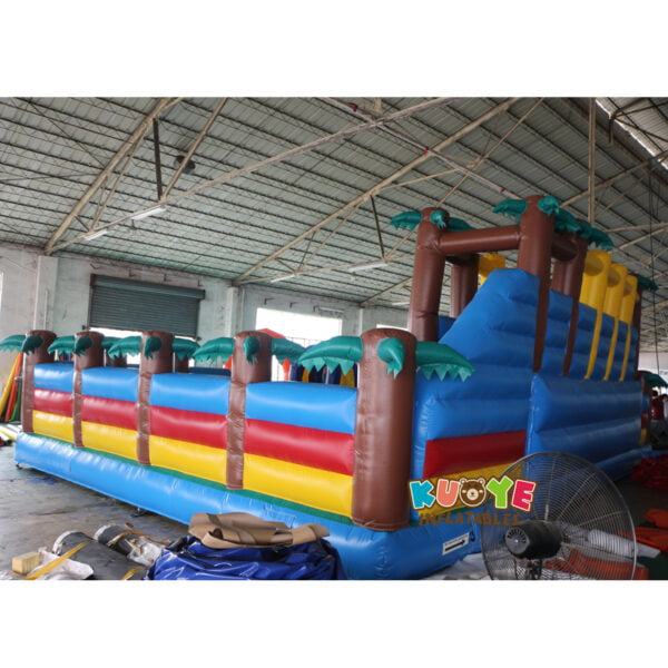 AP002 Jurassic Dinosaur Inflatable Trampoline Playground 3