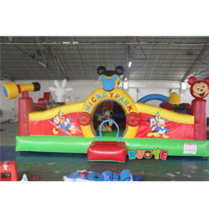 AP003 Micky Mouse Inflatable Toddler Park