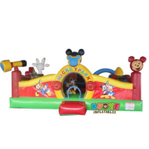 AP003 Micky Mouse Inflatable Toddler Park 2
