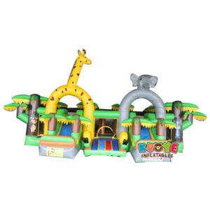 AP001 Adrenaline Jungle Zone Inflatable Playground 2