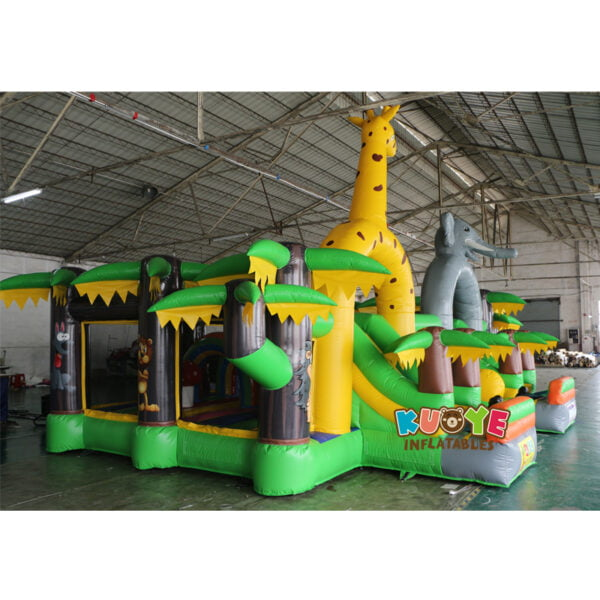 AP001 Adrenaline Jungle Zone Inflatable Playground 3
