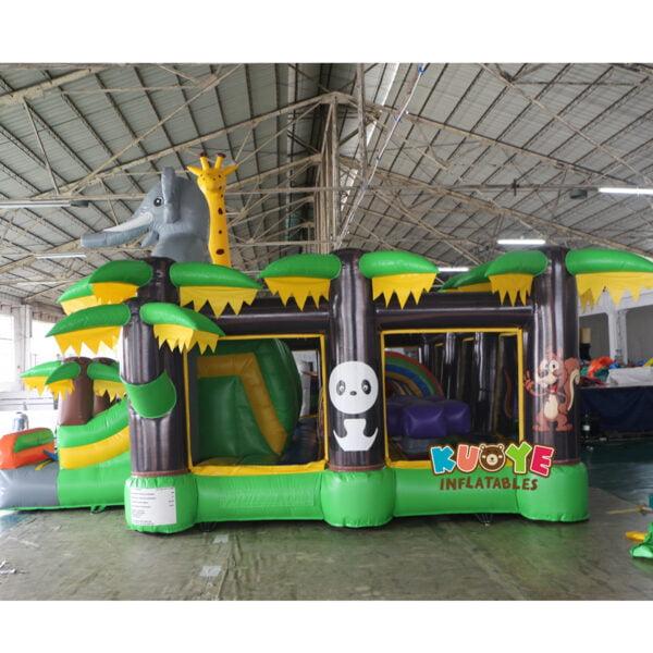 AP001 Adrenaline Jungle Zone Inflatable Playground 4