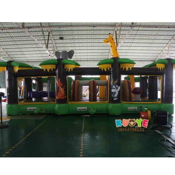 AP001 Adrenaline Jungle Zone Inflatable Playground 5