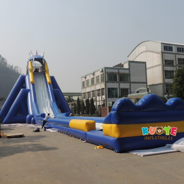 GS003 Inflatable Hippo Slide 4