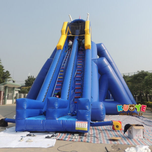 GS003 Inflatable Hippo Slide 3