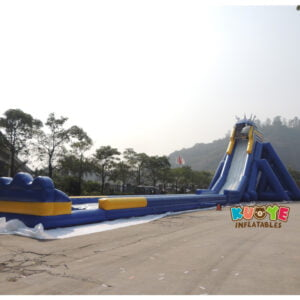 GS003 Inflatable Hippo Slide