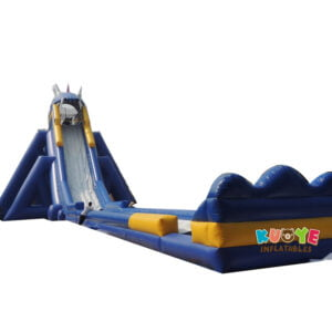 GS003 Inflatable Hippo Slide 2