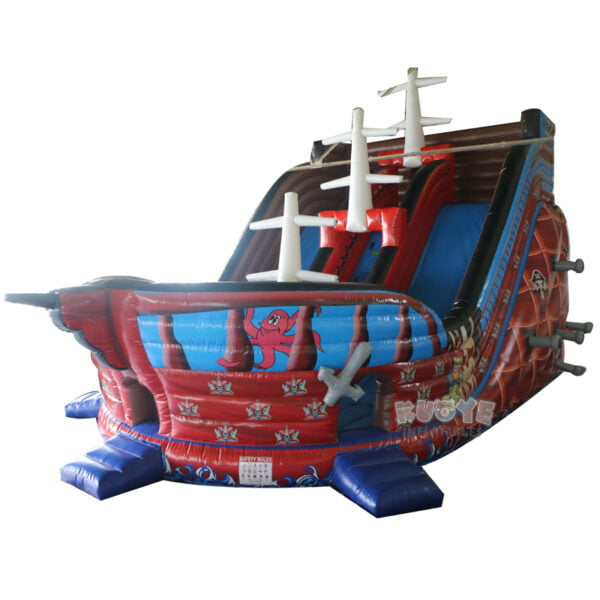 SL001 Giant Pirate Ship Inflatable Slide