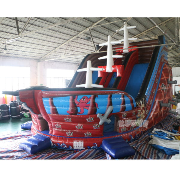 SL001 Giant Pirate Ship Inflatable Slide 2