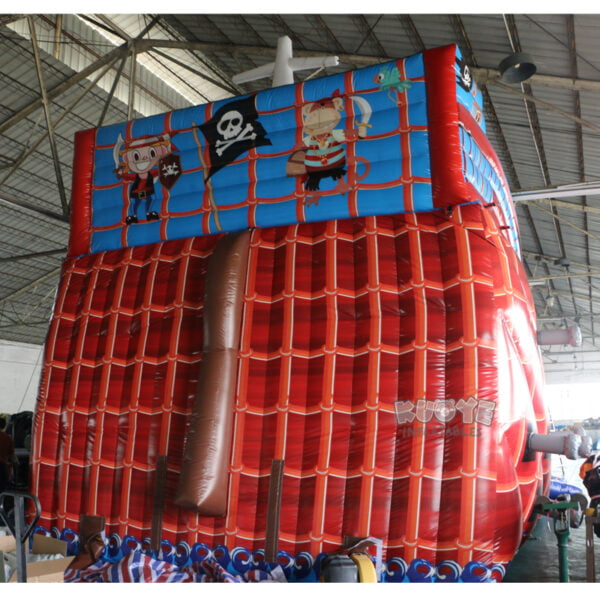 SL001 Giant Pirate Ship Inflatable Slide 3