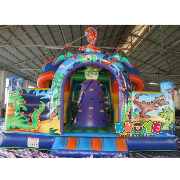 SL002 Jurassic Dinosaur Inflatable Slide 5
