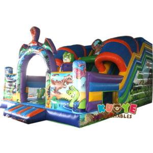 SL002 Jurassic Dinosaur Inflatable Slide 2