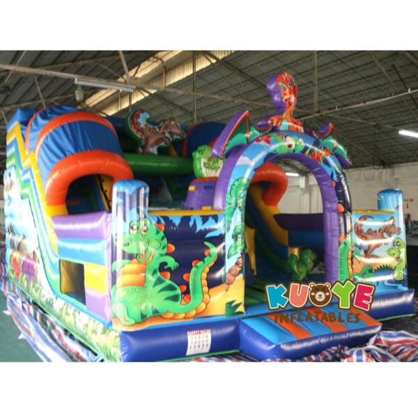 SL002 Jurassic Dinosaur Inflatable Slide 3