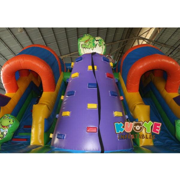 SL002 Jurassic Dinosaur Inflatable Slide 7