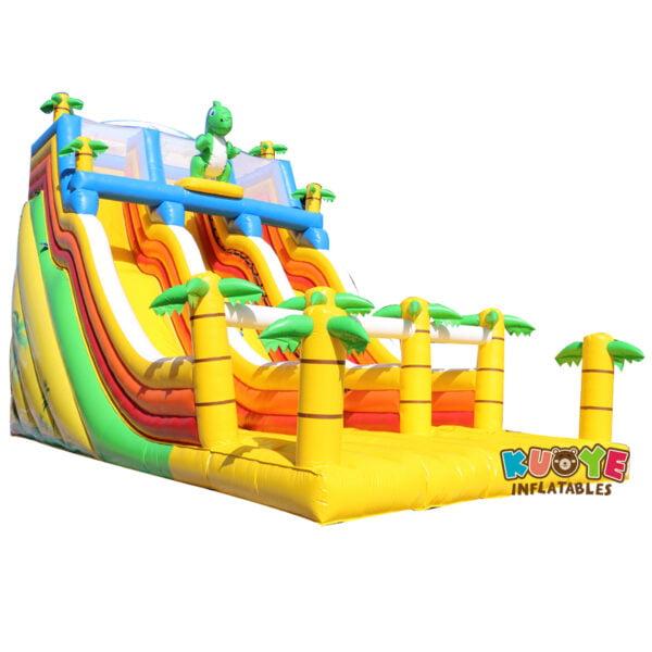 SL028 Giant Inflatable Dinosaur Slide