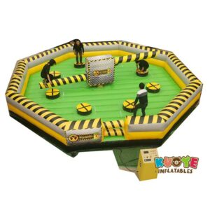 MR012 Toxic Meltdown Inflatable Wipeout 6 Players