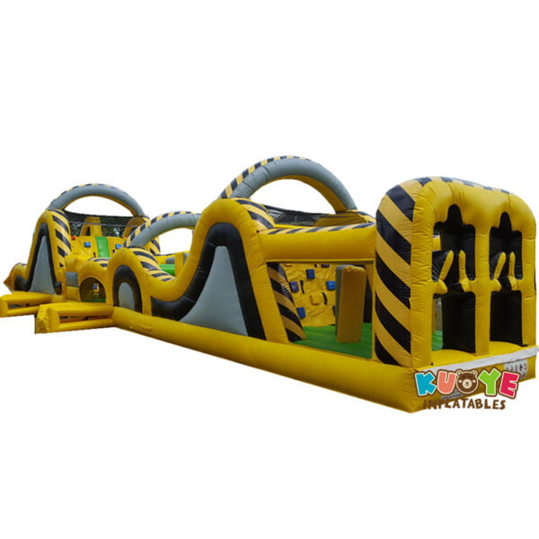 OC005 15m Atomic Rush Obstacle Course Inflatable