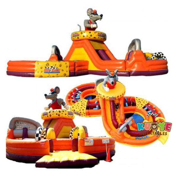 OC004 Rat Race Inflatable Obstacle Course