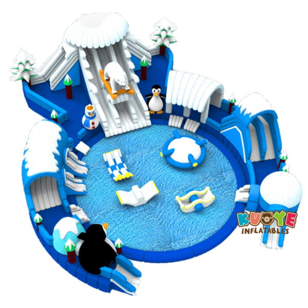 WG1820 Commercial Inflatable North Pole Water Park