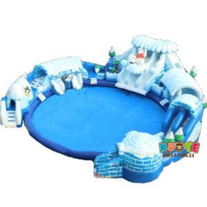 WG1821 Inflatable Frozen Water Park