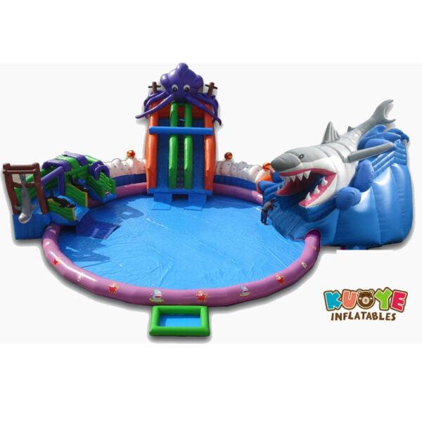 WG1823 Inflatable Sea World Shark Water Park