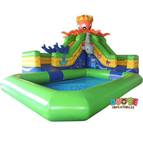 WG1826 Inflatable Octopus Water Park