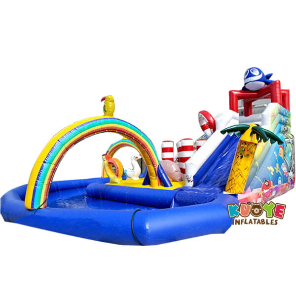 WG1825 Inflatable Whale Water Park