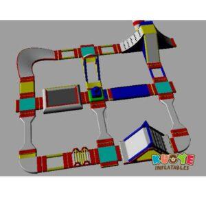 WP012 Inflatable Aqua Park for Summer