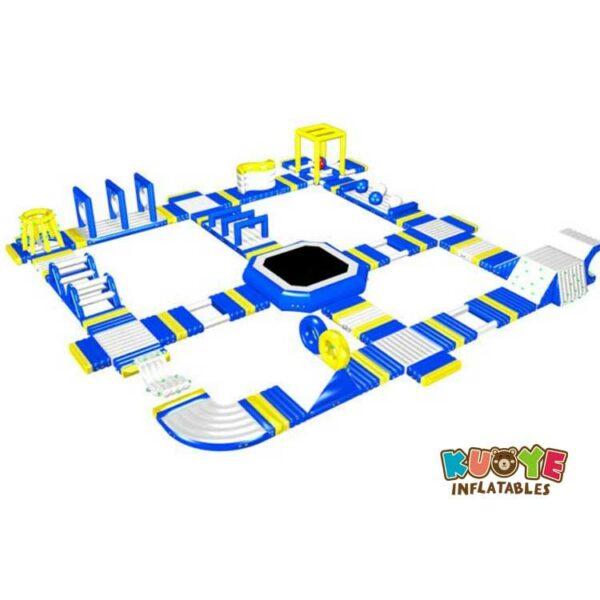 WP013 Adult Play Fun Inflatable Aqua Park