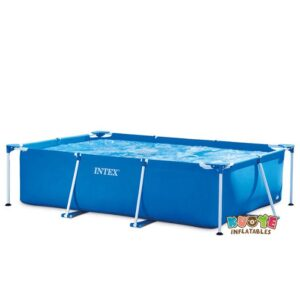 Ground Round Frame Pool Set for Home Use 2