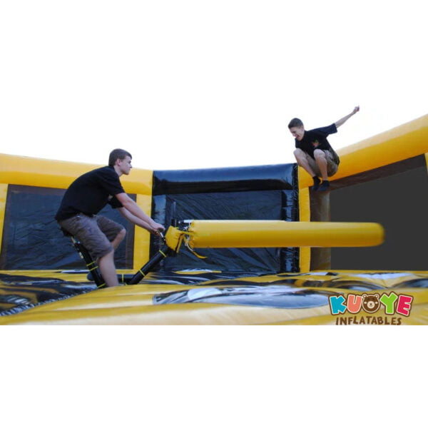 SP032 Inflatable Bicycle Meltdown Wipeout Game 8 Players 4