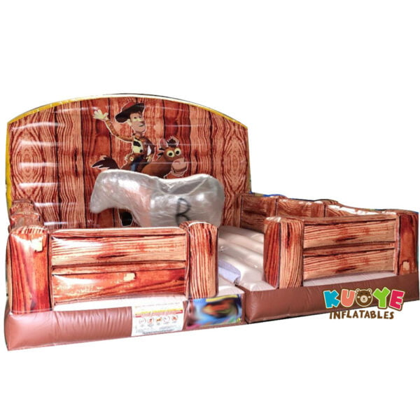 MR001 Rodeo Horse Simulator Carnival Game Mechanical Bull Ride