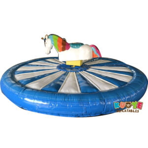 MR009 Mechanical Rodeo Unicorn with Inflatable Mat