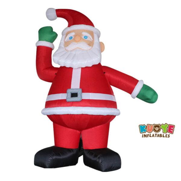 Xmas001 6m Inflatable Santa Clown