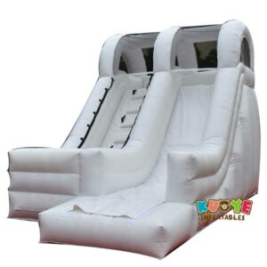 SL035 Small White Inflatable Slide For Pool