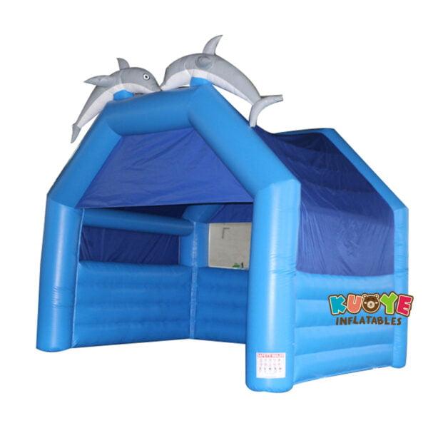 TT1817 PVC Blue Inflatable Tent