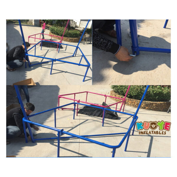 T001 Bungee Jumping Trampoline 4