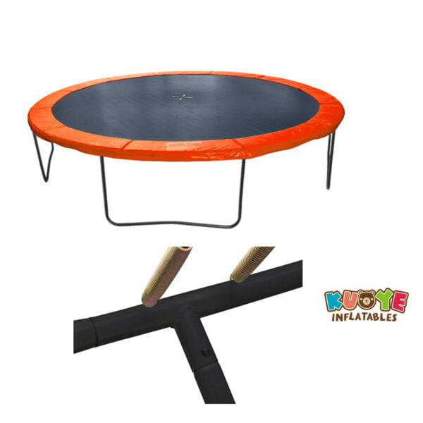 T004 Garden Trampoline with Basketball Hoop 3