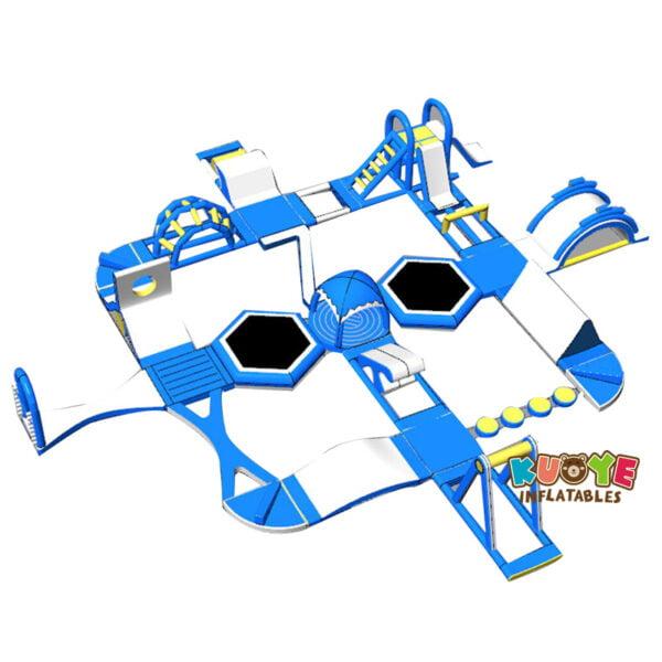 WG1804 Inflatable Floating Aqua Park