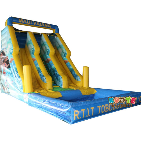WS003 Maul Vaiana New Inflatable Water Slide
