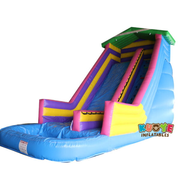 WS004 House Inflatable Water Slide