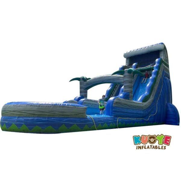 WS055 21FT Blue Crush Water Slide