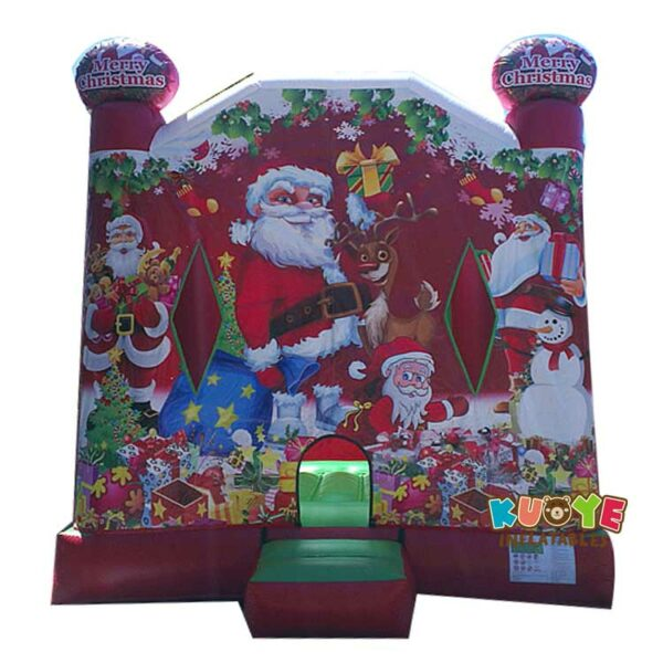 BH122 Christmas Jumping Castle