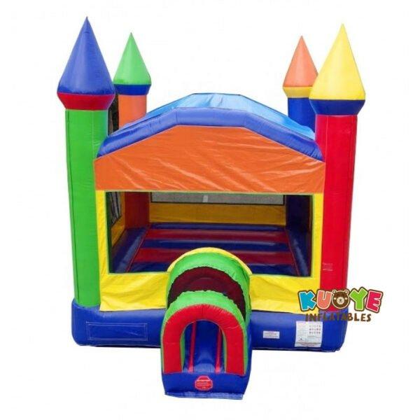 BH107 Rainbow Multi-Play Commercial Bounce House