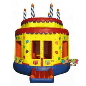 BH109 Birthday Cake Bounce House Party