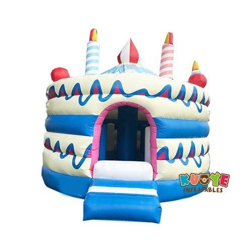 BH110 Birthday Cake Bouncy Castle