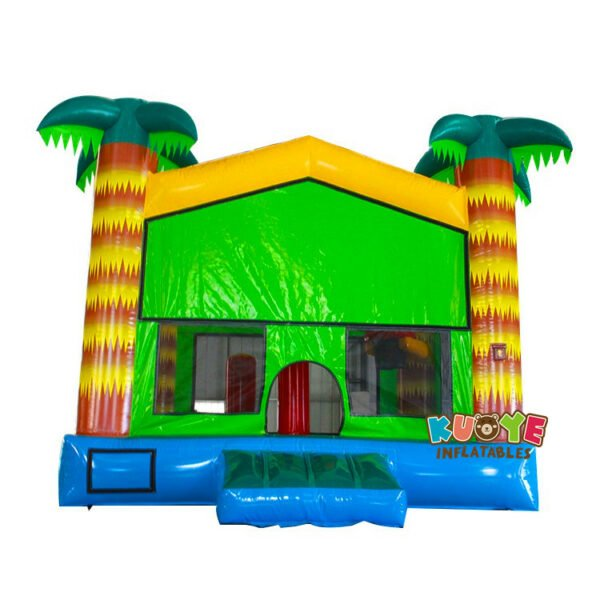 BH119 Palm Tree Bounce House with Velcro Banner